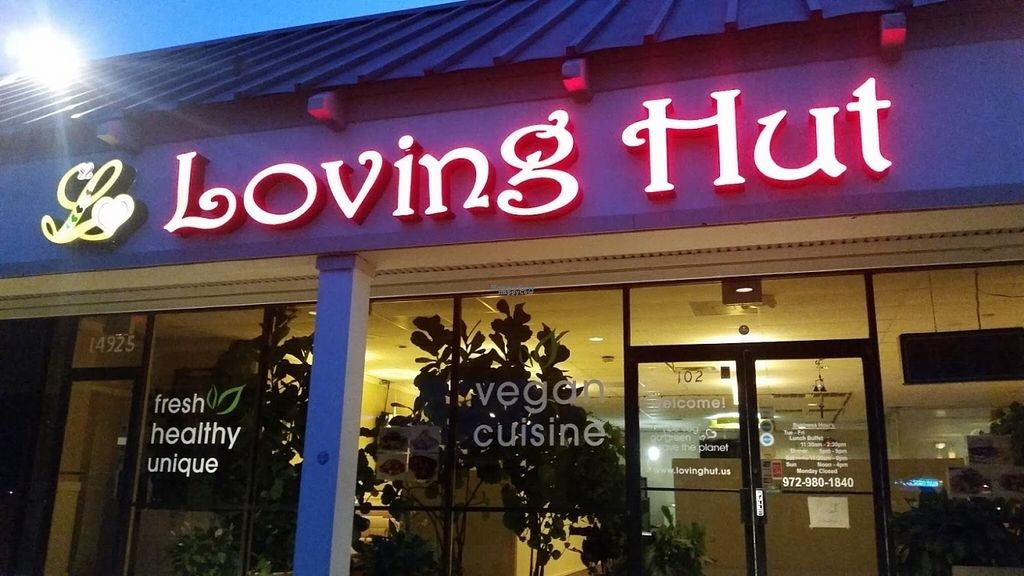 """Photo of Loving Hut  by <a href=""""/members/profile/AlyssaWagner"""">AlyssaWagner</a> <br/>Outside <br/> August 4, 2016  - <a href='/contact/abuse/image/30897/165418'>Report</a>"""