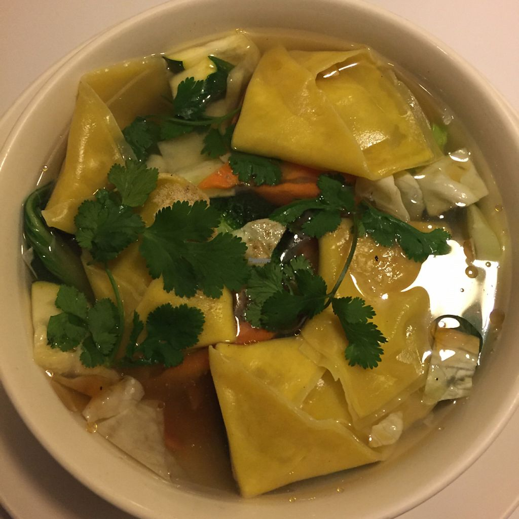 """Photo of Loving Hut  by <a href=""""/members/profile/LinnDaugherty"""">LinnDaugherty</a> <br/>wonton soup is my new favorite  <br/> December 24, 2016  - <a href='/contact/abuse/image/30897/204379'>Report</a>"""