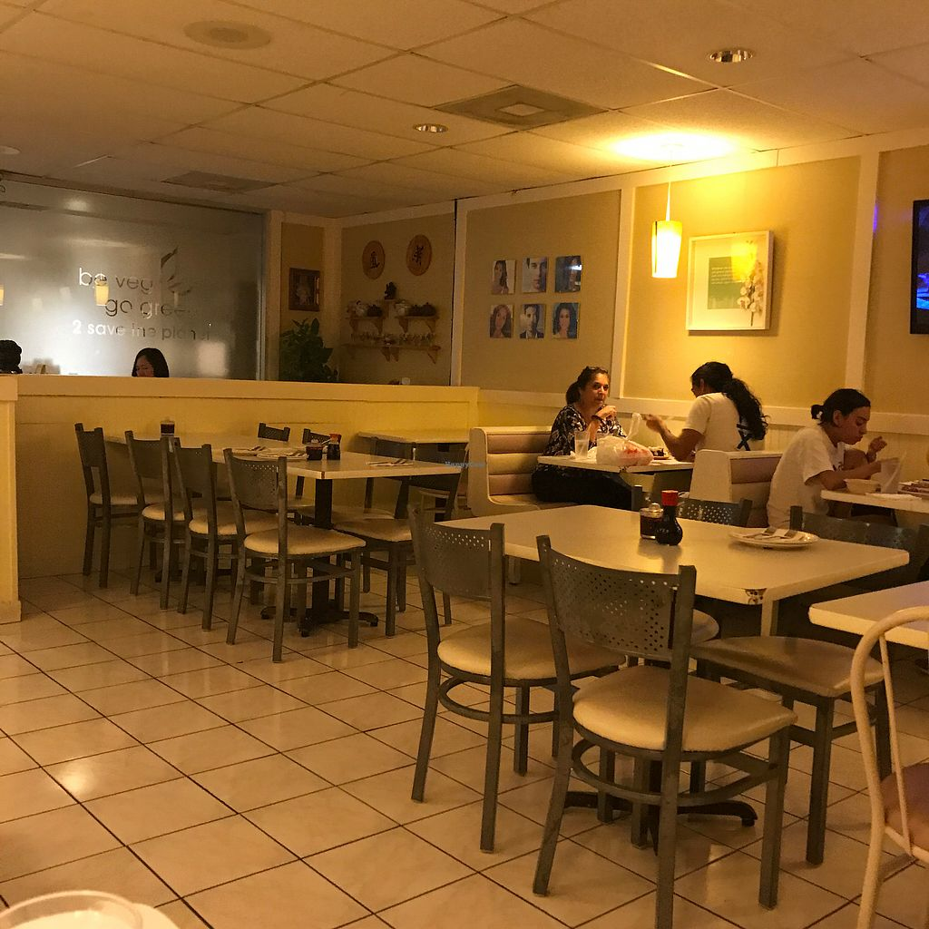 """Photo of Loving Hut  by <a href=""""/members/profile/earthville"""">earthville</a> <br/>Dining room <br/> October 12, 2017  - <a href='/contact/abuse/image/30897/314376'>Report</a>"""