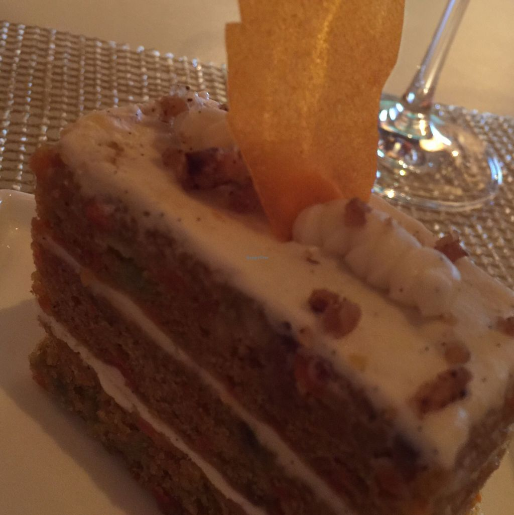 """Photo of Wynn Hotel - Lakeside  by <a href=""""/members/profile/LynnColettaVitiello"""">LynnColettaVitiello</a> <br/>Vegan Carrot Cake <br/> May 31, 2016  - <a href='/contact/abuse/image/30910/151603'>Report</a>"""