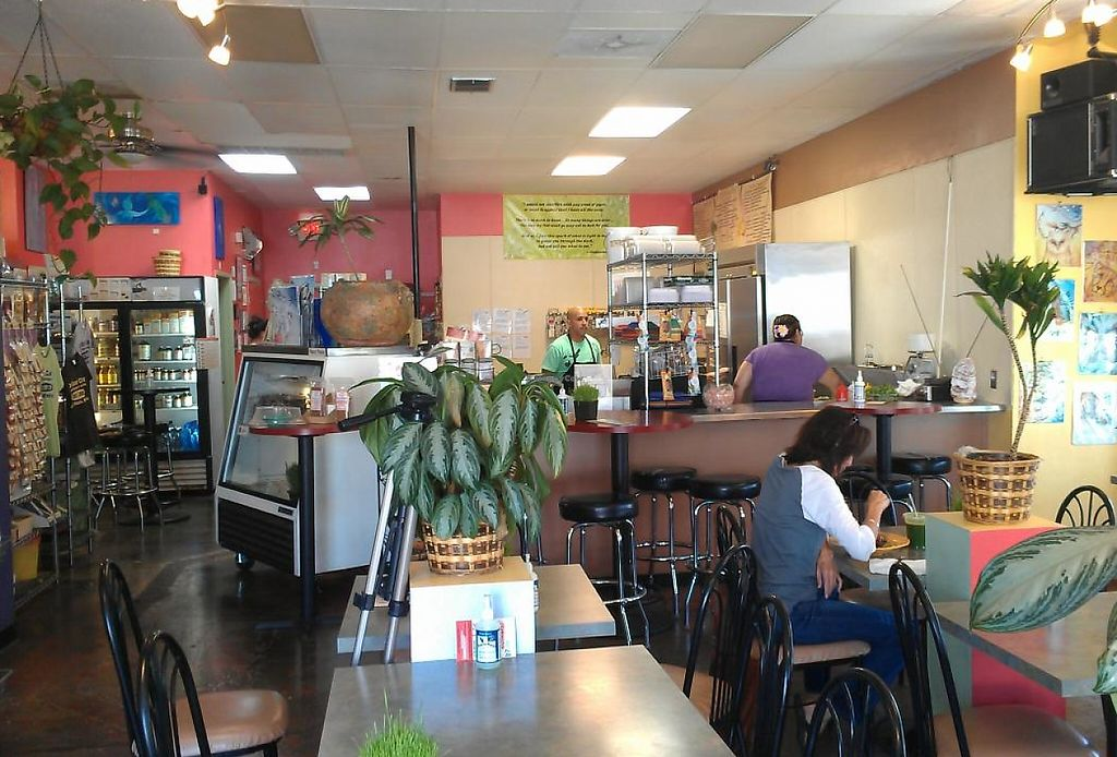 """Photo of CLOSED: Go Raw Cafe - Lake East  by <a href=""""/members/profile/kenvegan"""">kenvegan</a> <br/>Inside Go Raw Cafe <br/> May 19, 2014  - <a href='/contact/abuse/image/3093/208152'>Report</a>"""