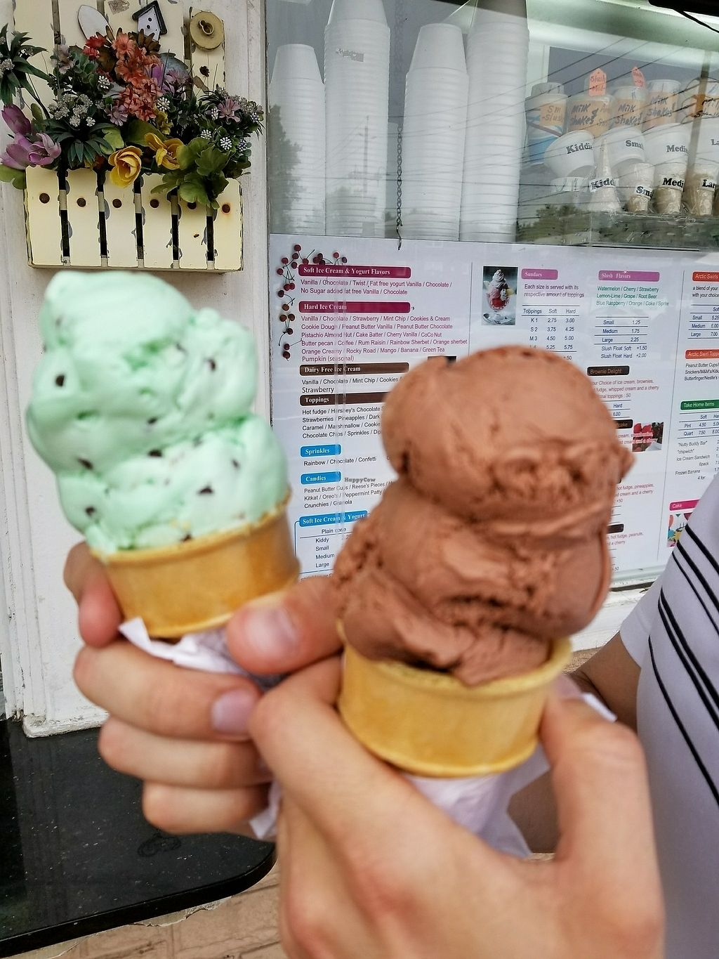 """Photo of Dairy Deluxe  by <a href=""""/members/profile/tikhonova87"""">tikhonova87</a> <br/>dairy free ice-cream <br/> July 28, 2017  - <a href='/contact/abuse/image/30942/285988'>Report</a>"""