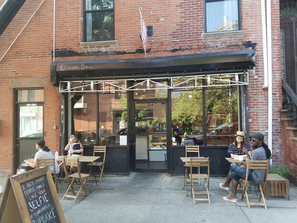 "Photo of Clementine Bakery  by <a href=""/members/profile/kenvegan"">kenvegan</a> <br/>outside <br/> June 26, 2016  - <a href='/contact/abuse/image/30943/156305'>Report</a>"