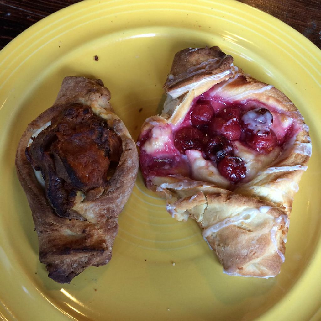 "Photo of Clementine Bakery  by <a href=""/members/profile/joelrama"">joelrama</a> <br/>Savory roasted garlic sweet potato and sweet cherry Danishes.  <br/> December 31, 2013  - <a href='/contact/abuse/image/30943/61352'>Report</a>"