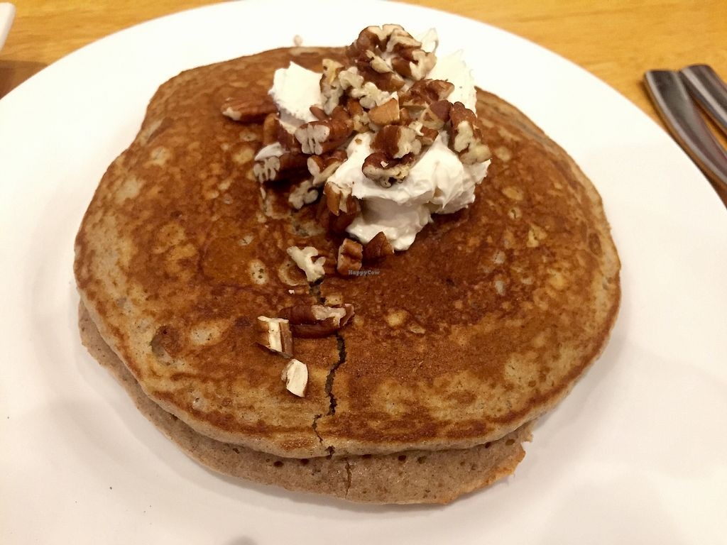 "Photo of Kingsbury Street Cafe  by <a href=""/members/profile/happycowgirl"">happycowgirl</a> <br/>Carrot pancakes <br/> November 3, 2017  - <a href='/contact/abuse/image/30964/321559'>Report</a>"
