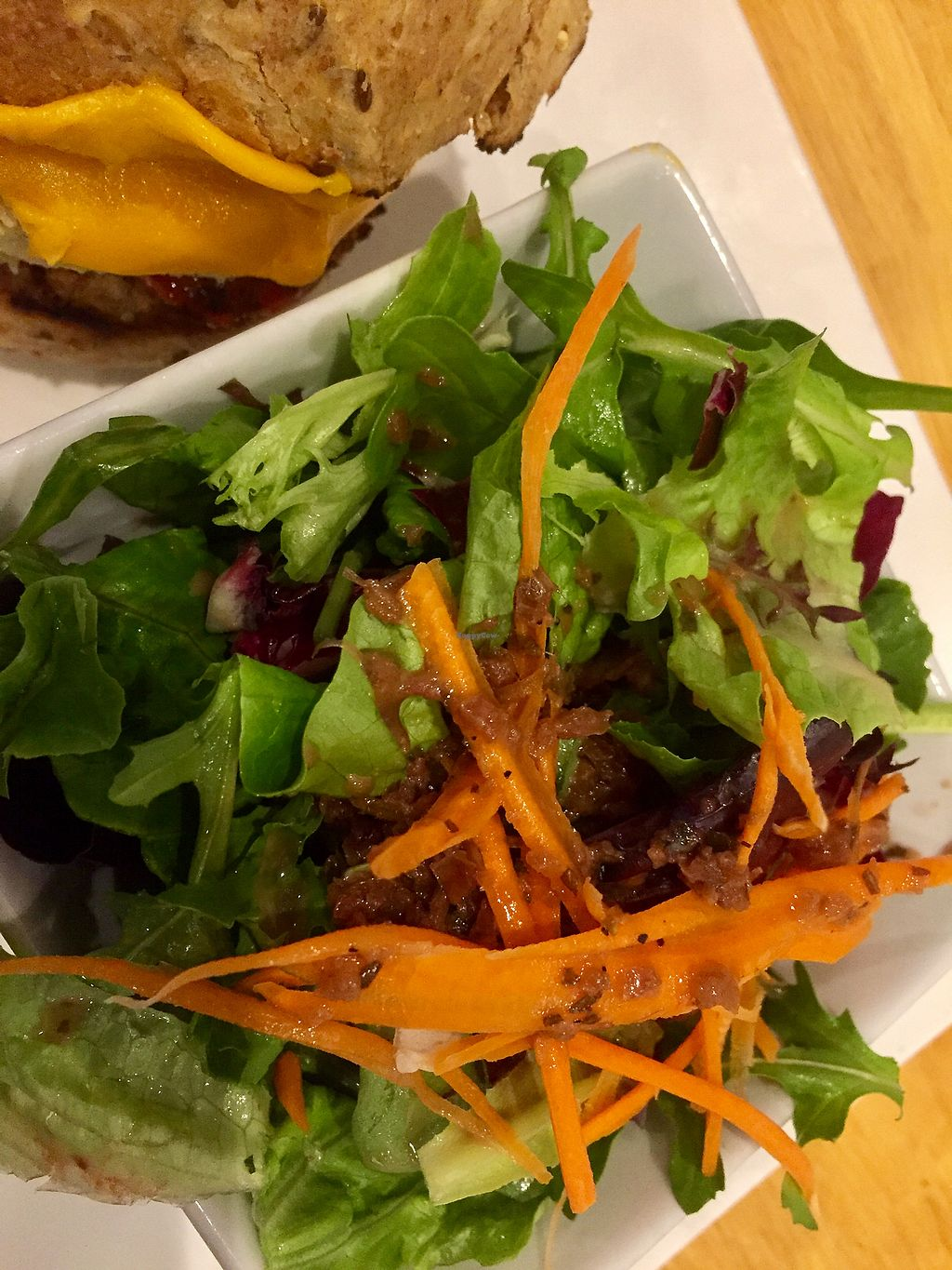 "Photo of Kingsbury Street Cafe  by <a href=""/members/profile/happycowgirl"">happycowgirl</a> <br/>Side salad  <br/> November 3, 2017  - <a href='/contact/abuse/image/30964/321562'>Report</a>"
