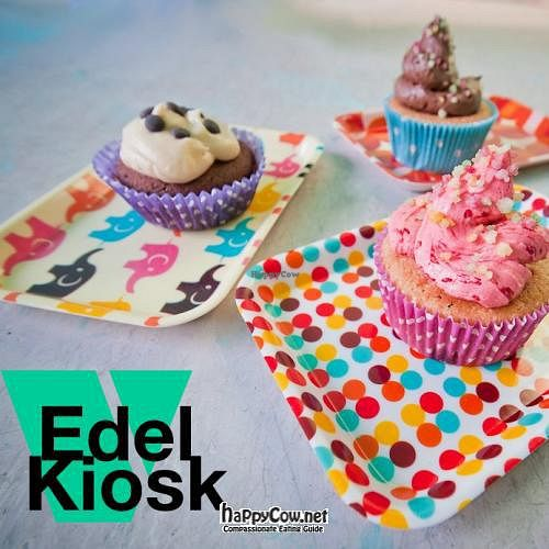 "Photo of CLOSED: Edelkiosk  by <a href=""/members/profile/VegannaSnes"">VegannaSnes</a> <br/>Tasty Cupcakes at Edelkiosk! <br/> March 12, 2012  - <a href='/contact/abuse/image/30966/29291'>Report</a>"