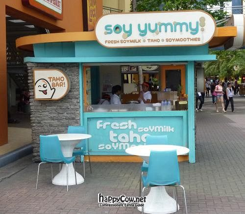 "Photo of Soy Yummy - Pasay City  by <a href=""/members/profile/VeganSquid"">VeganSquid</a> <br/> March 14, 2012  - <a href='/contact/abuse/image/30977/29326'>Report</a>"