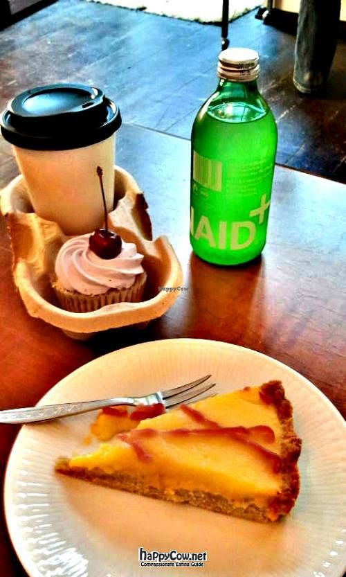 "Photo of Cafe Vogelfrei  by <a href=""/members/profile/crumb"">crumb</a> <br/>Mango cake and cherry cupcake to go <br/> August 5, 2012  - <a href='/contact/abuse/image/30981/35505'>Report</a>"