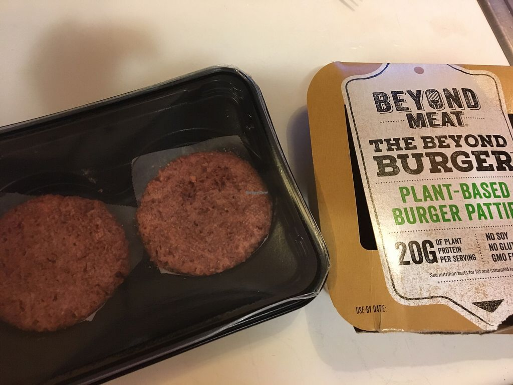 "Photo of Kowalski's Supermarkets  by <a href=""/members/profile/WBLVegan3415"">WBLVegan3415</a> <br/>Beyond Meat Beyond Burgers!  <br/> February 15, 2018  - <a href='/contact/abuse/image/30994/359778'>Report</a>"