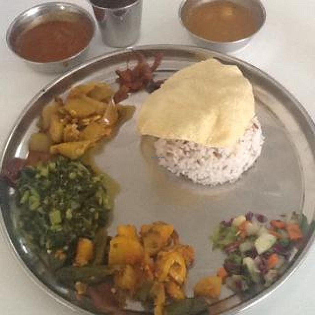 "Photo of The Ganga Cafe  by <a href=""/members/profile/AndyT"">AndyT</a> <br/>Brown rice thali (Lunch set) <br/> June 30, 2014  - <a href='/contact/abuse/image/31011/73009'>Report</a>"