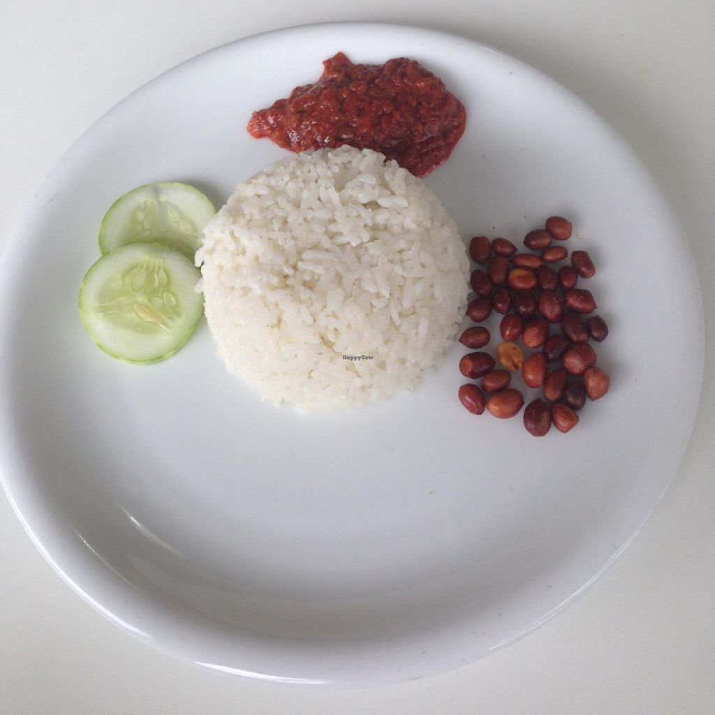 "Photo of The Ganga Cafe  by <a href=""/members/profile/AndyT"">AndyT</a> <br/>Delicious Vegan Nasi Lemak - try it! <br/> February 9, 2015  - <a href='/contact/abuse/image/31011/92688'>Report</a>"