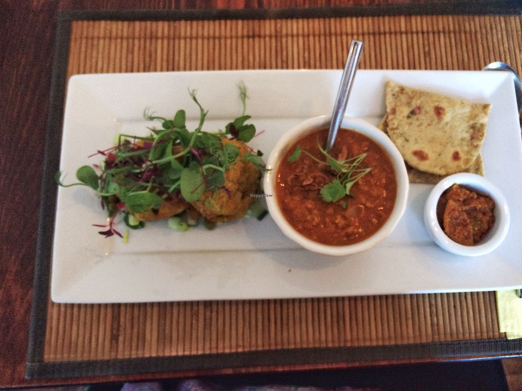"""Photo of The Bean Inn  by <a href=""""/members/profile/SaraBarker"""">SaraBarker</a> <br/>Stuffed potato cakes <br/> July 22, 2017  - <a href='/contact/abuse/image/3106/283409'>Report</a>"""