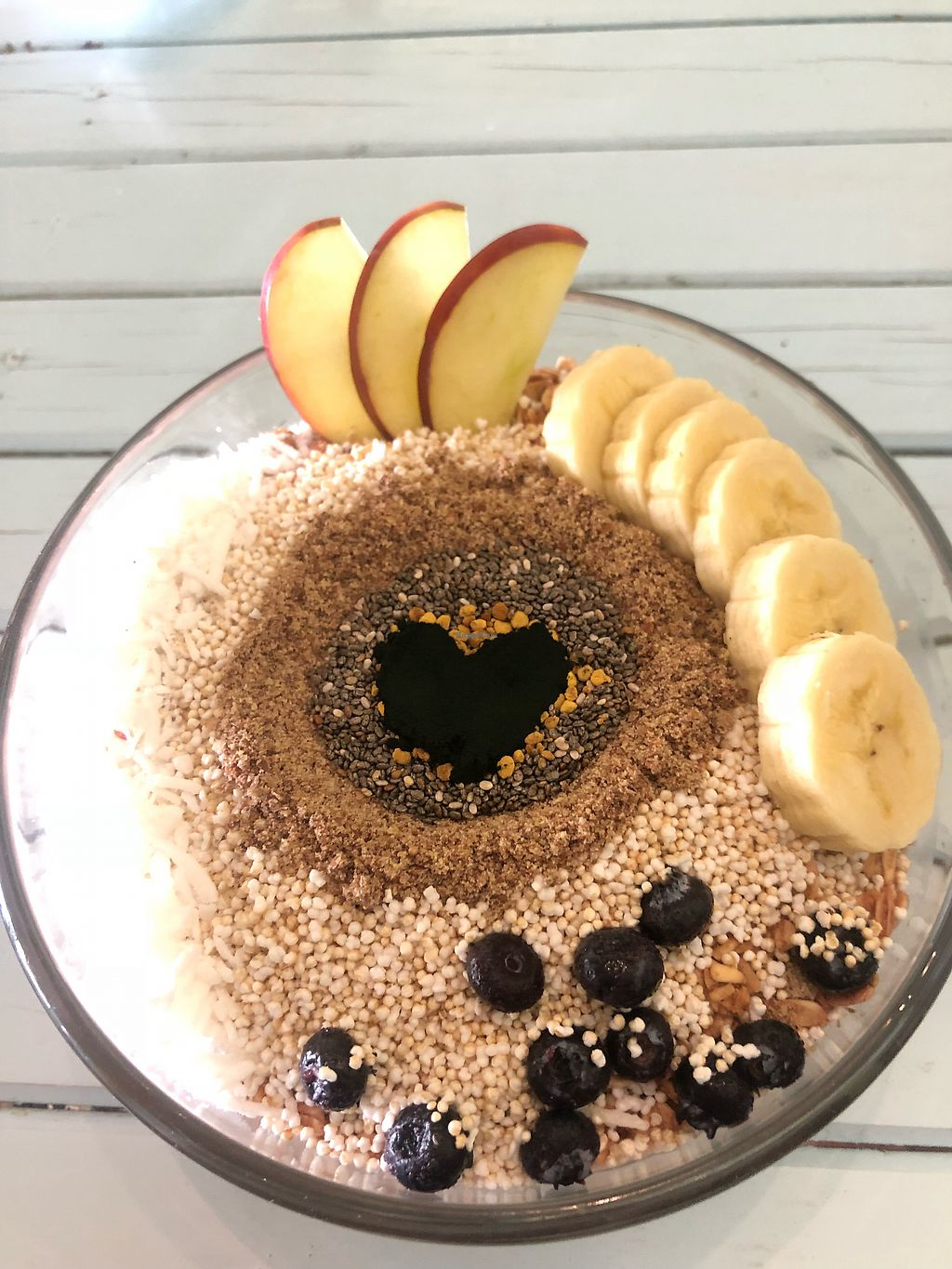 """Photo of Orangy Smoothies  by <a href=""""/members/profile/JennieD"""">JennieD</a> <br/>Lots of love put into the smoothie bowls here <br/> April 2, 2018  - <a href='/contact/abuse/image/31077/379960'>Report</a>"""