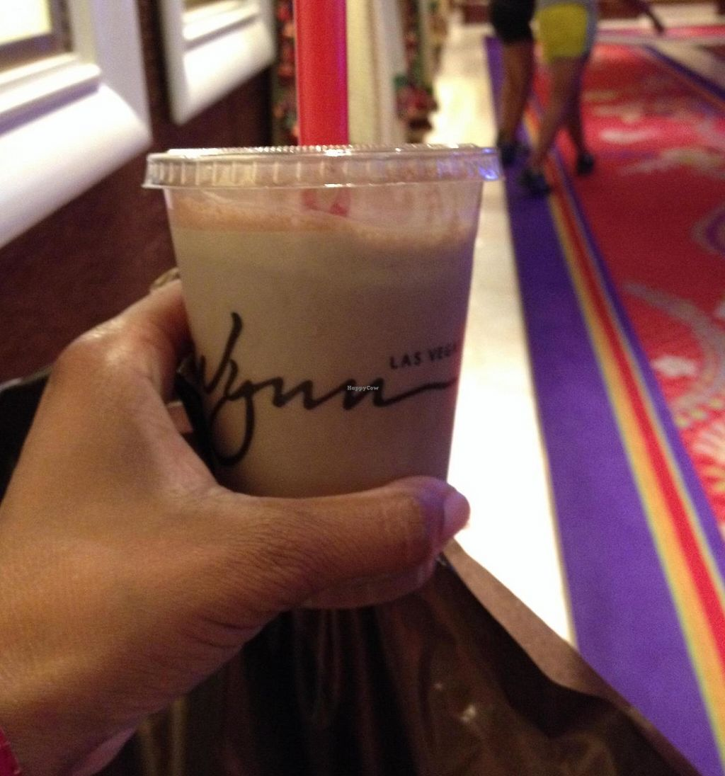 "Photo of CLOSED: Wynn Hotel - Zoozacrackers Deli  by <a href=""/members/profile/Tigra220"">Tigra220</a> <br/>Yummy vegan chocolate shake <br/> July 12, 2014  - <a href='/contact/abuse/image/31143/207722'>Report</a>"