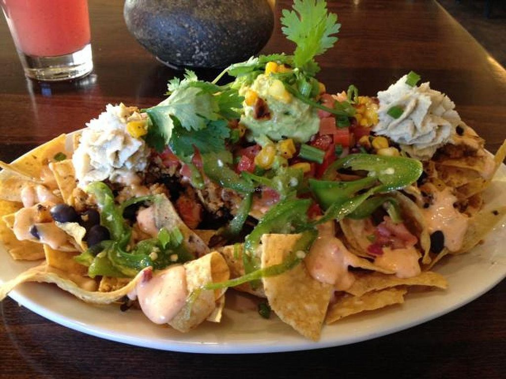 """Photo of Native Foods - Boulder  by <a href=""""/members/profile/AsYouWish"""">AsYouWish</a> <br/>Native Nachos <br/> October 31, 2014  - <a href='/contact/abuse/image/31144/84303'>Report</a>"""