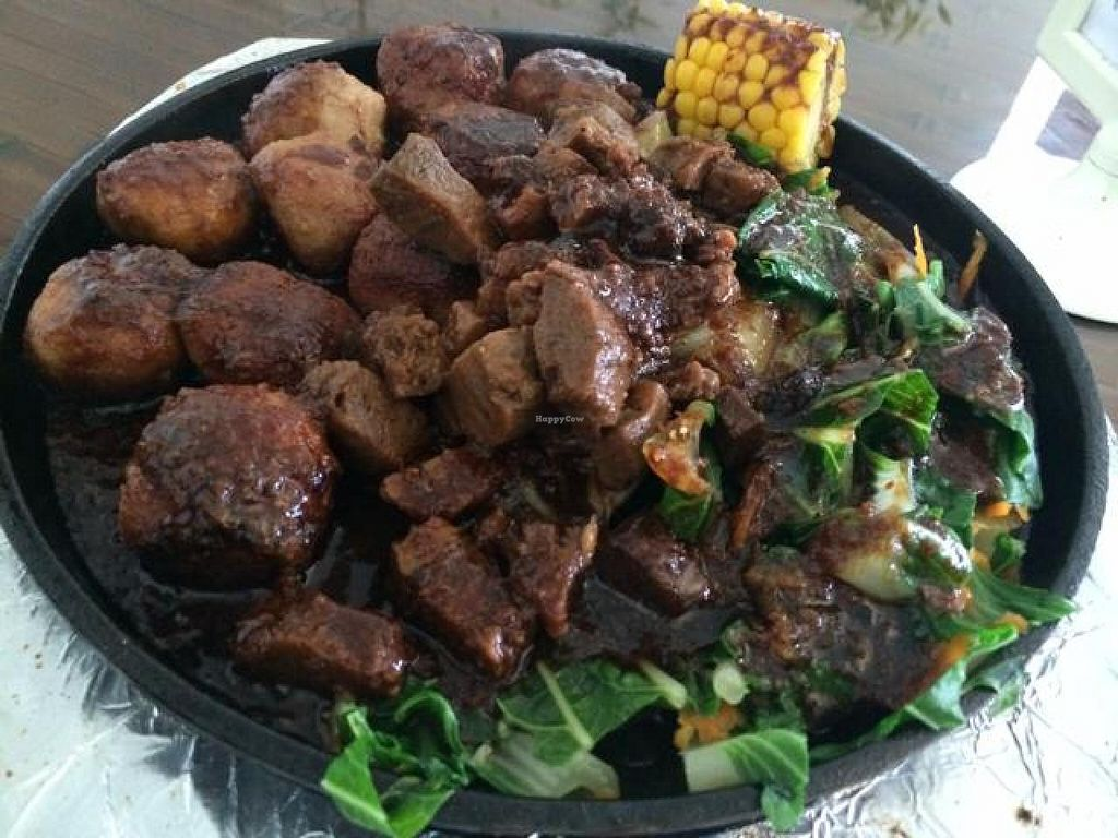 """Photo of Jardin Verde  by <a href=""""/members/profile/dnmp"""">dnmp</a> <br/>Mushroom Balls on a Clay Plate <br/> August 3, 2014  - <a href='/contact/abuse/image/31149/75896'>Report</a>"""