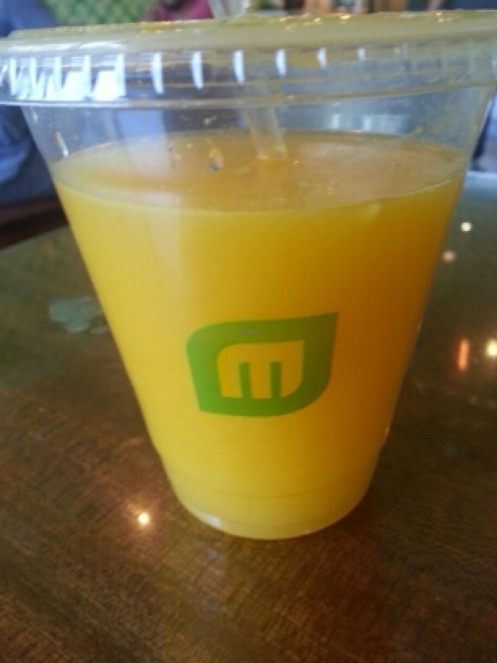 """Photo of CLOSED: Maoz Vegetarian  by <a href=""""/members/profile/eric"""">eric</a> <br/>fresh oj <br/> April 4, 2016  - <a href='/contact/abuse/image/31168/142686'>Report</a>"""