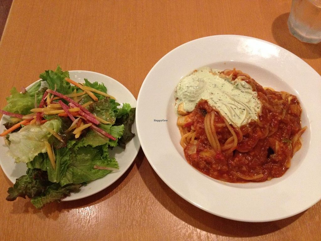 """Photo of Chaya Macrobiotics - Shiodome  by <a href=""""/members/profile/SP"""">SP</a> <br/>pasta <br/> June 23, 2015  - <a href='/contact/abuse/image/31179/107136'>Report</a>"""
