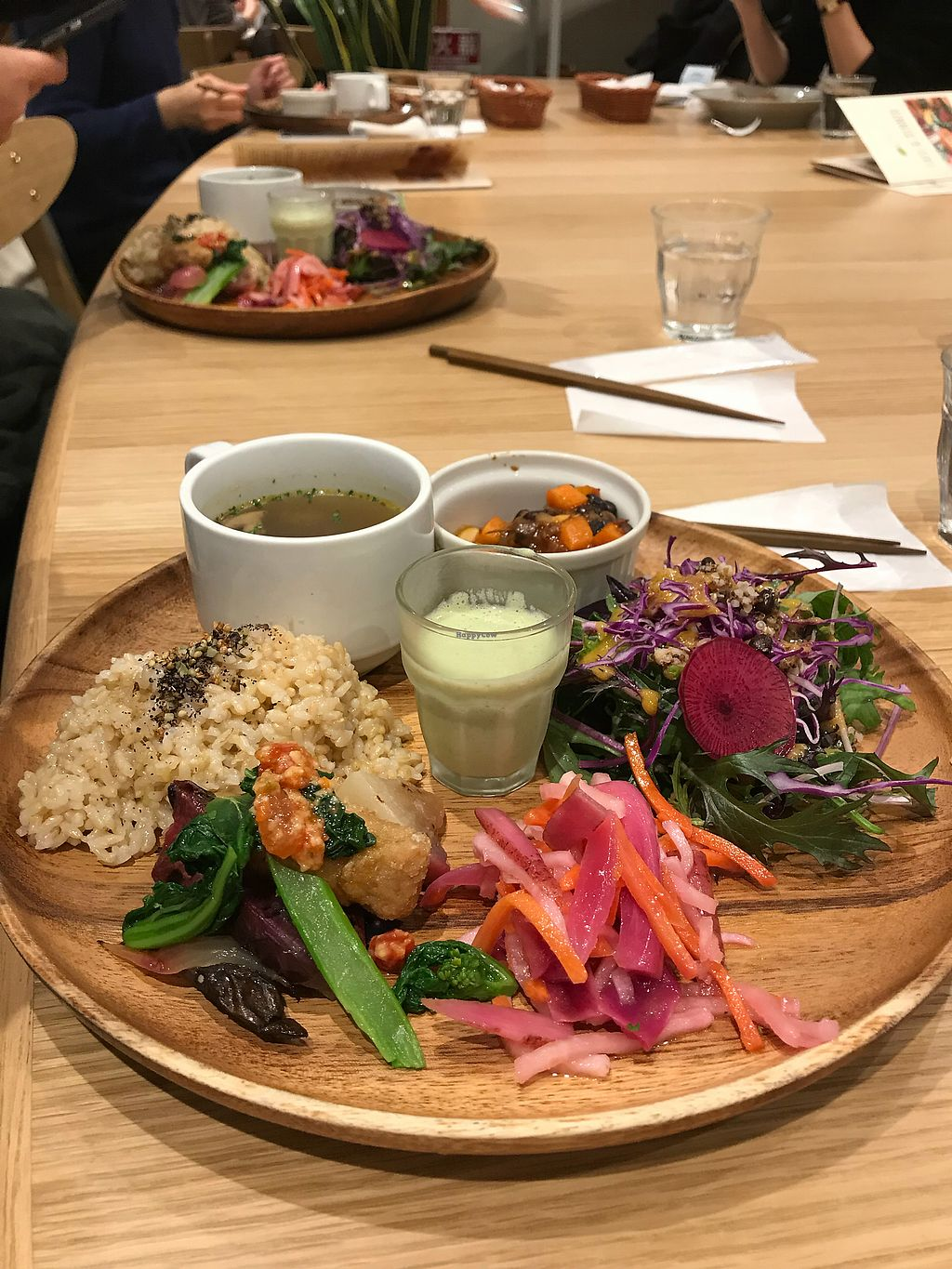 """Photo of Chaya Macrobiotics - Shiodome  by <a href=""""/members/profile/Keito26"""">Keito26</a> <br/>Deli Plate  <br/> January 2, 2018  - <a href='/contact/abuse/image/31179/341895'>Report</a>"""