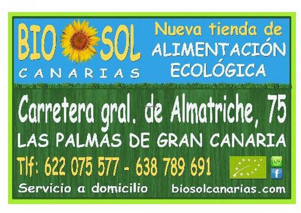 "Photo of BioSol Canarias  by <a href=""/members/profile/community"">community</a> <br/>BioSol Canarias <br/> February 11, 2014  - <a href='/contact/abuse/image/31194/64193'>Report</a>"