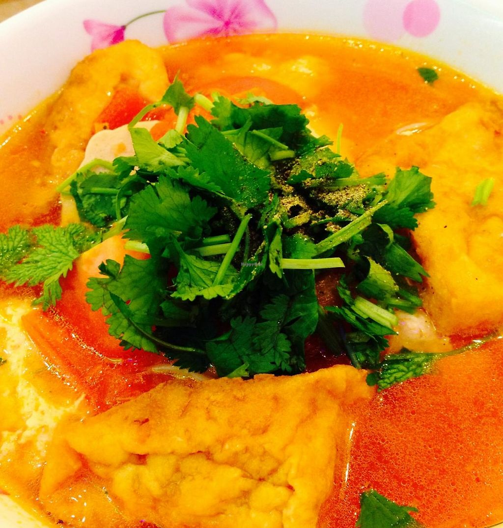"Photo of Thanh Van Restaurant  by <a href=""/members/profile/cookiem"">cookiem</a> <br/>Noodle soup - menu says with 'crab' and watercress <br/> February 14, 2015  - <a href='/contact/abuse/image/31214/232336'>Report</a>"