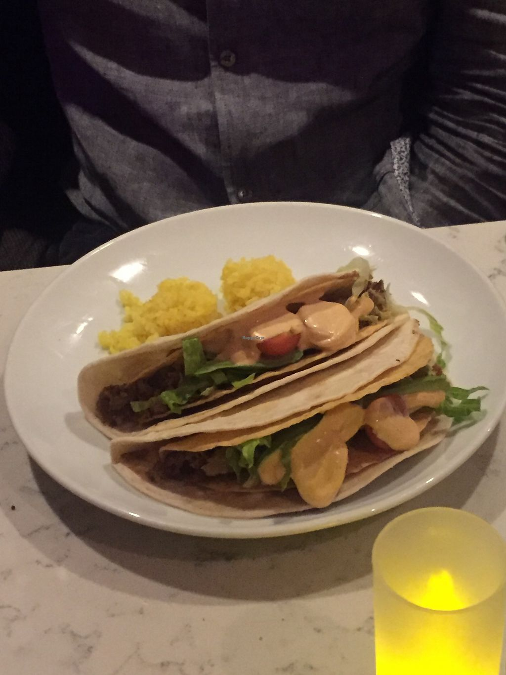 """Photo of Urban Vegan Kitchen  by <a href=""""/members/profile/KaitlynnGill"""">KaitlynnGill</a> <br/>Tacos <br/> December 3, 2017  - <a href='/contact/abuse/image/31266/331975'>Report</a>"""