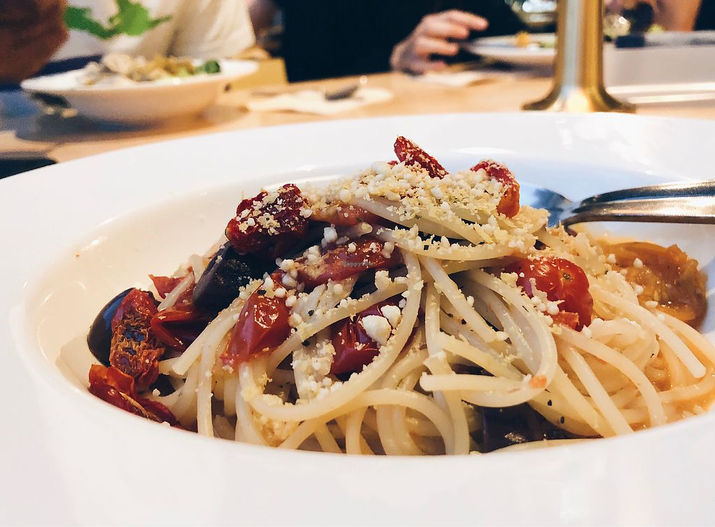 "Photo of Real Food - Orchard Central  by <a href=""/members/profile/consciouscookieee"">consciouscookieee</a> <br/>Pomodoro crudo pasta ($10.80) <br/> April 23, 2018  - <a href='/contact/abuse/image/31279/389831'>Report</a>"
