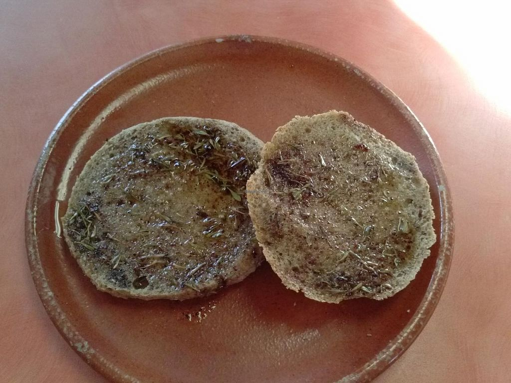 """Photo of Julia's Kitchen  by <a href=""""/members/profile/Sonja%20and%20Dirk"""">Sonja and Dirk</a> <br/>gluten free toast and butter <br/> February 16, 2015  - <a href='/contact/abuse/image/31308/93299'>Report</a>"""