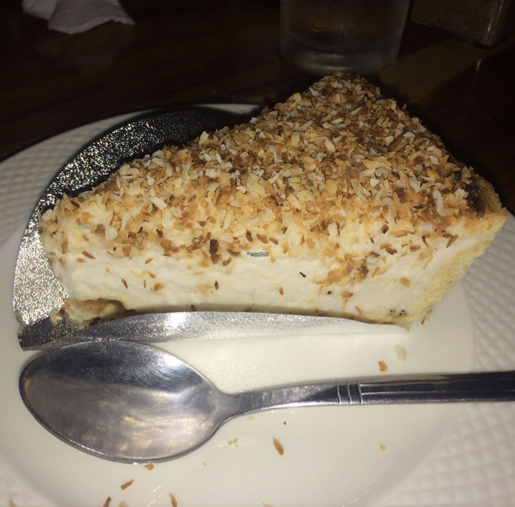 "Photo of Cat House Chiang Mai  by <a href=""/members/profile/FatTonyBMX"">FatTonyBMX</a> <br/>Vegan coconut cream pie. SO GOOD! <br/> January 17, 2017  - <a href='/contact/abuse/image/31314/212719'>Report</a>"