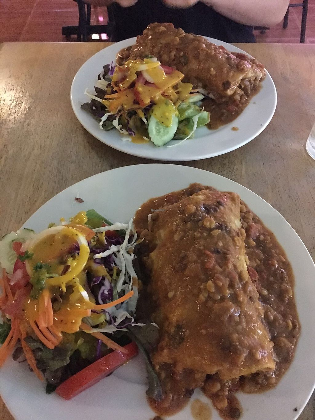 "Photo of Cat House Chiang Mai  by <a href=""/members/profile/katiechiamia"">katiechiamia</a> <br/>Lentil burrito with tofu  <br/> November 1, 2017  - <a href='/contact/abuse/image/31314/320814'>Report</a>"