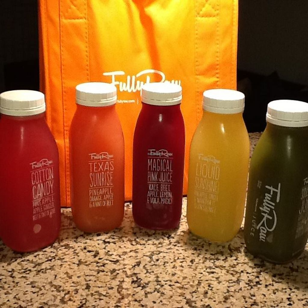 """Photo of CLOSED: Rawfully Organic Co-op  by <a href=""""/members/profile/MizzB"""">MizzB</a> <br/>Fully Raw juices <br/> December 17, 2015  - <a href='/contact/abuse/image/31360/128840'>Report</a>"""