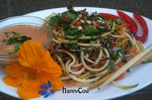 "Photo of SimplyRaw Express  by <a href=""/members/profile/ottawavegan"">ottawavegan</a> <br/>Pad Thai noodles <br/> September 20, 2012  - <a href='/contact/abuse/image/31416/38090'>Report</a>"
