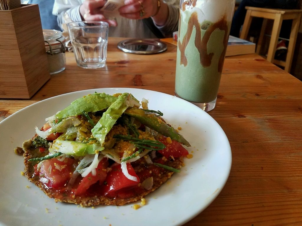 """Photo of Wild Food Cafe  by <a href=""""/members/profile/Dagmar14"""">Dagmar14</a> <br/>pizette  <br/> August 27, 2017  - <a href='/contact/abuse/image/31440/297873'>Report</a>"""