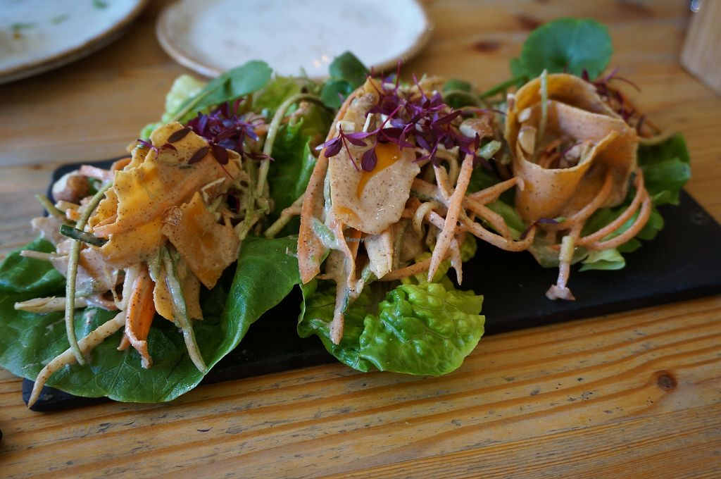 """Photo of Wild Food Cafe  by <a href=""""/members/profile/Ricardo"""">Ricardo</a> <br/>Pad Thai Bite Canapès <br/> September 25, 2017  - <a href='/contact/abuse/image/31440/308344'>Report</a>"""