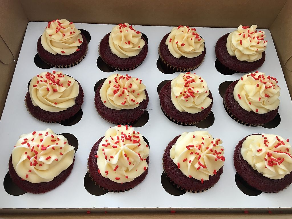 "Photo of The Sweet Art of Cakes  by <a href=""/members/profile/Clean%26Green"">Clean&Green</a> <br/>Vegan Red Velvet cupcakes <br/> March 29, 2018  - <a href='/contact/abuse/image/31454/378036'>Report</a>"