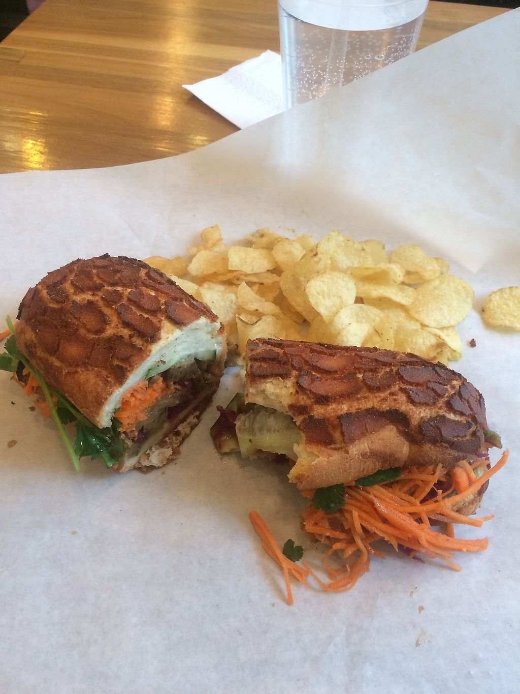 """Photo of Soulwich  by <a href=""""/members/profile/Bigsully92"""">Bigsully92</a> <br/>Indonesian BBQ Sandwich w/ Seitan  <br/> March 5, 2018  - <a href='/contact/abuse/image/31467/367224'>Report</a>"""
