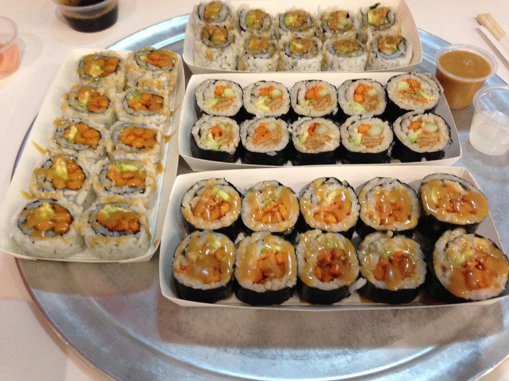 """Photo of Rollbotto Sushi  by <a href=""""/members/profile/X10"""">X10</a> <br/>Awesome sushi!! <br/> November 14, 2015  - <a href='/contact/abuse/image/31483/124930'>Report</a>"""