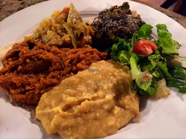 """Photo of Nile Ethiopian Restaurant  by <a href=""""/members/profile/thatonechick339"""">thatonechick339</a> <br/>Absolutely delicious meal! <br/> September 10, 2016  - <a href='/contact/abuse/image/31488/174732'>Report</a>"""