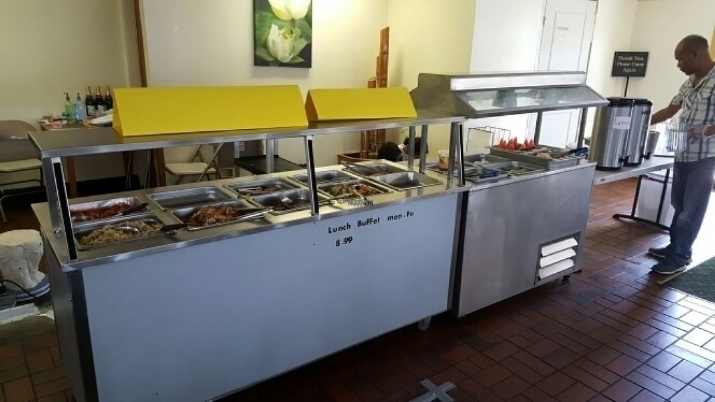 """Photo of Lotus Vegan Restaurant  by <a href=""""/members/profile/0verdrive"""">0verdrive</a> <br/>Vegan lunch buffet!! <br/> August 5, 2016  - <a href='/contact/abuse/image/31533/165954'>Report</a>"""