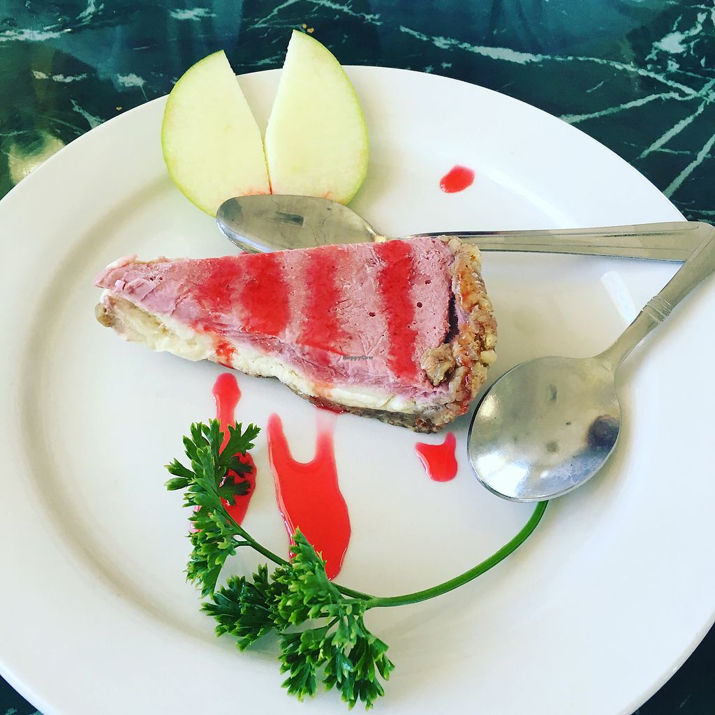 """Photo of Lotus Vegan Restaurant  by <a href=""""/members/profile/FranciellyVaz"""">FranciellyVaz</a> <br/>raw """"cheesecake""""  <br/> July 6, 2017  - <a href='/contact/abuse/image/31533/277209'>Report</a>"""