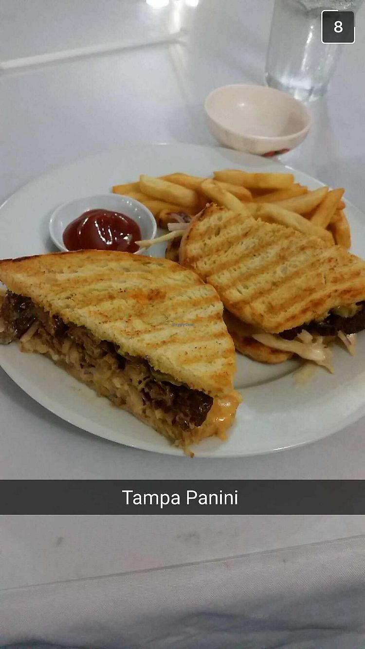 """Photo of Lotus Vegan Restaurant  by <a href=""""/members/profile/Jamie9705"""">Jamie9705</a> <br/>Tampa Panini <br/> September 14, 2017  - <a href='/contact/abuse/image/31533/304290'>Report</a>"""