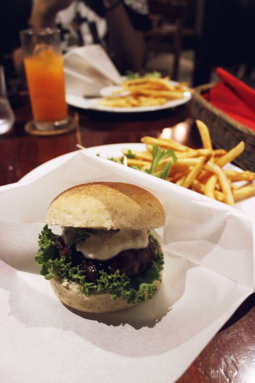 """Photo of CLOSED: Matsuontoko Cafe  by <a href=""""/members/profile/YukiLim"""">YukiLim</a> <br/>Vegan nanban burger <br/> July 16, 2017  - <a href='/contact/abuse/image/31575/280907'>Report</a>"""