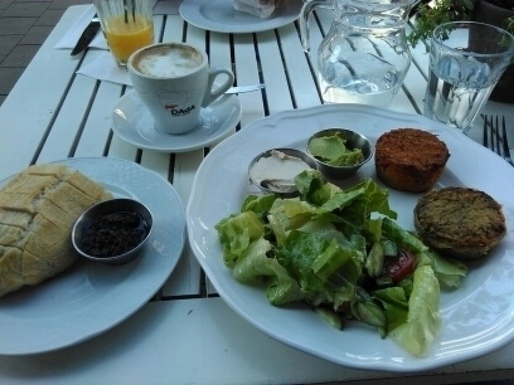 """Photo of Shraga Cafe  by <a href=""""/members/profile/L%C3%B6weDavid"""">LöweDavid</a> <br/>Vegan Breakfast <br/> July 17, 2016  - <a href='/contact/abuse/image/31576/160387'>Report</a>"""