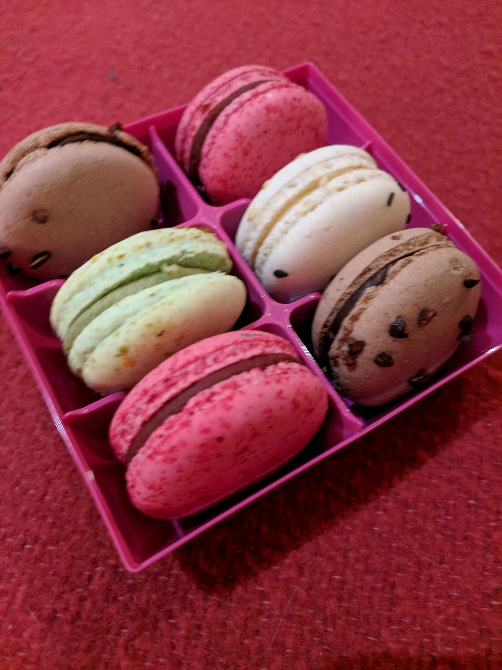 """Photo of Gentle Gourmet  by <a href=""""/members/profile/ThaisaFernandes"""">ThaisaFernandes</a> <br/>Vegan Macaron <br/> December 7, 2017  - <a href='/contact/abuse/image/31578/333116'>Report</a>"""