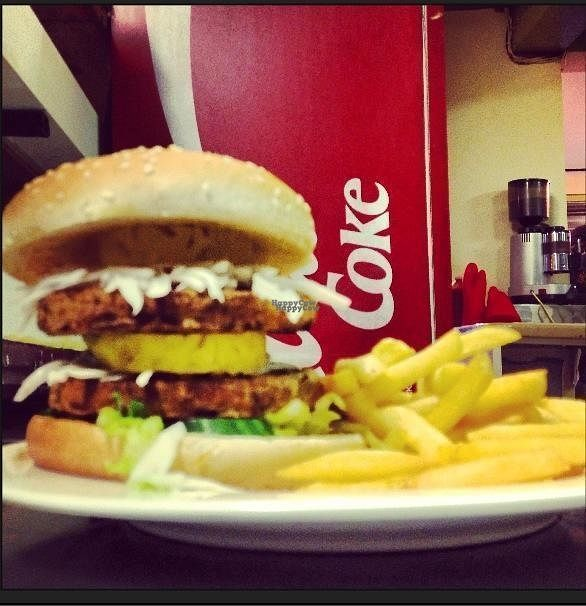 """Photo of Grove Cafe  by <a href=""""/members/profile/Meaks"""">Meaks</a> <br/>Vegan Cheeseburger <br/> September 3, 2016  - <a href='/contact/abuse/image/31596/173305'>Report</a>"""