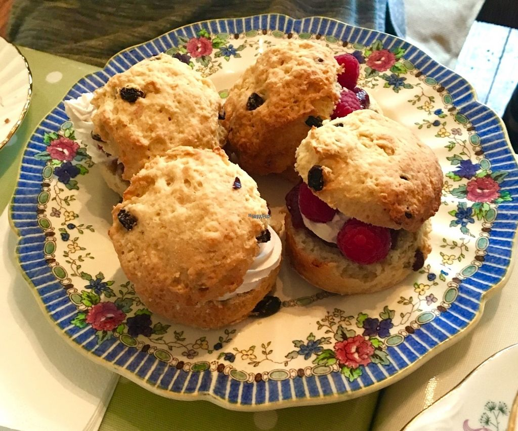 """Photo of Flying Goose Cafe  by <a href=""""/members/profile/Libra77"""">Libra77</a> <br/>Scones  <br/> October 30, 2016  - <a href='/contact/abuse/image/31622/185387'>Report</a>"""