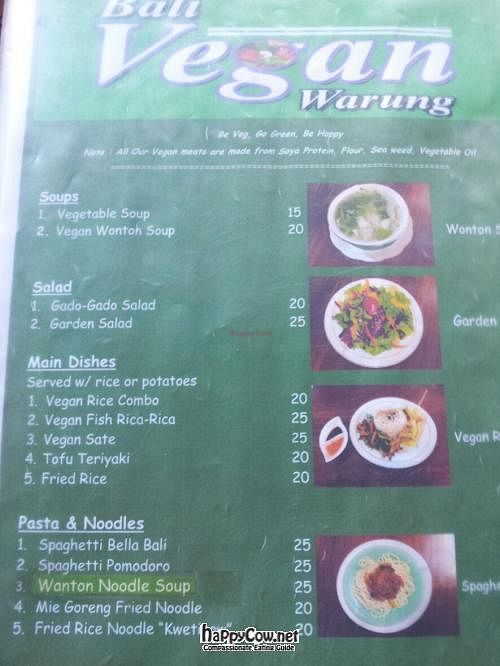 Photo of CLOSED: Bali Vegan Warung  by claireabella <br/> June 21, 2012  - <a href='/contact/abuse/image/31625/33579'>Report</a>