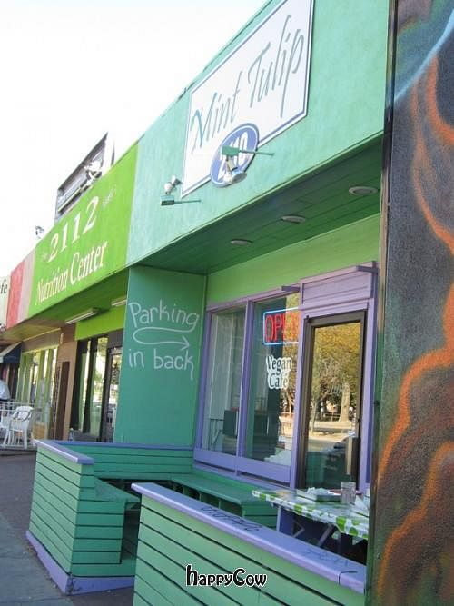 """Photo of CLOSED: Mint Tulip Vegan Cafe  by <a href=""""/members/profile/Julie%20R"""">Julie R</a> <br/>The Store Front <br/> October 24, 2012  - <a href='/contact/abuse/image/3162/39412'>Report</a>"""