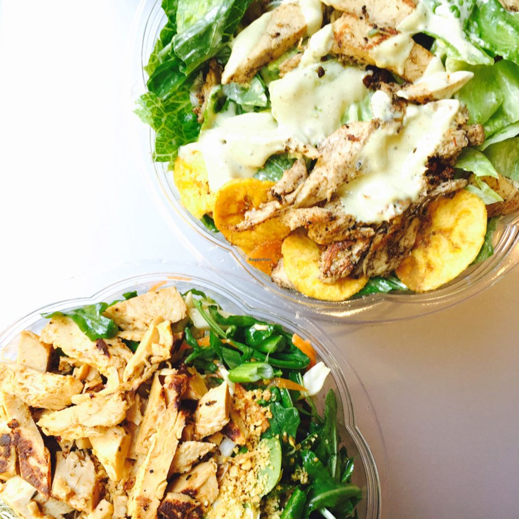 """Photo of HipCityVeg - Rittenhouse  by <a href=""""/members/profile/MelHeinrich"""">MelHeinrich</a> <br/>delicious salads  <br/> May 29, 2016  - <a href='/contact/abuse/image/31663/151249'>Report</a>"""